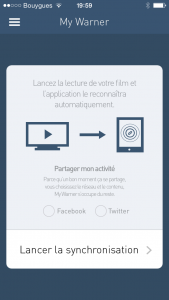 MyWarner Synced App_Civolution SyncNow 3